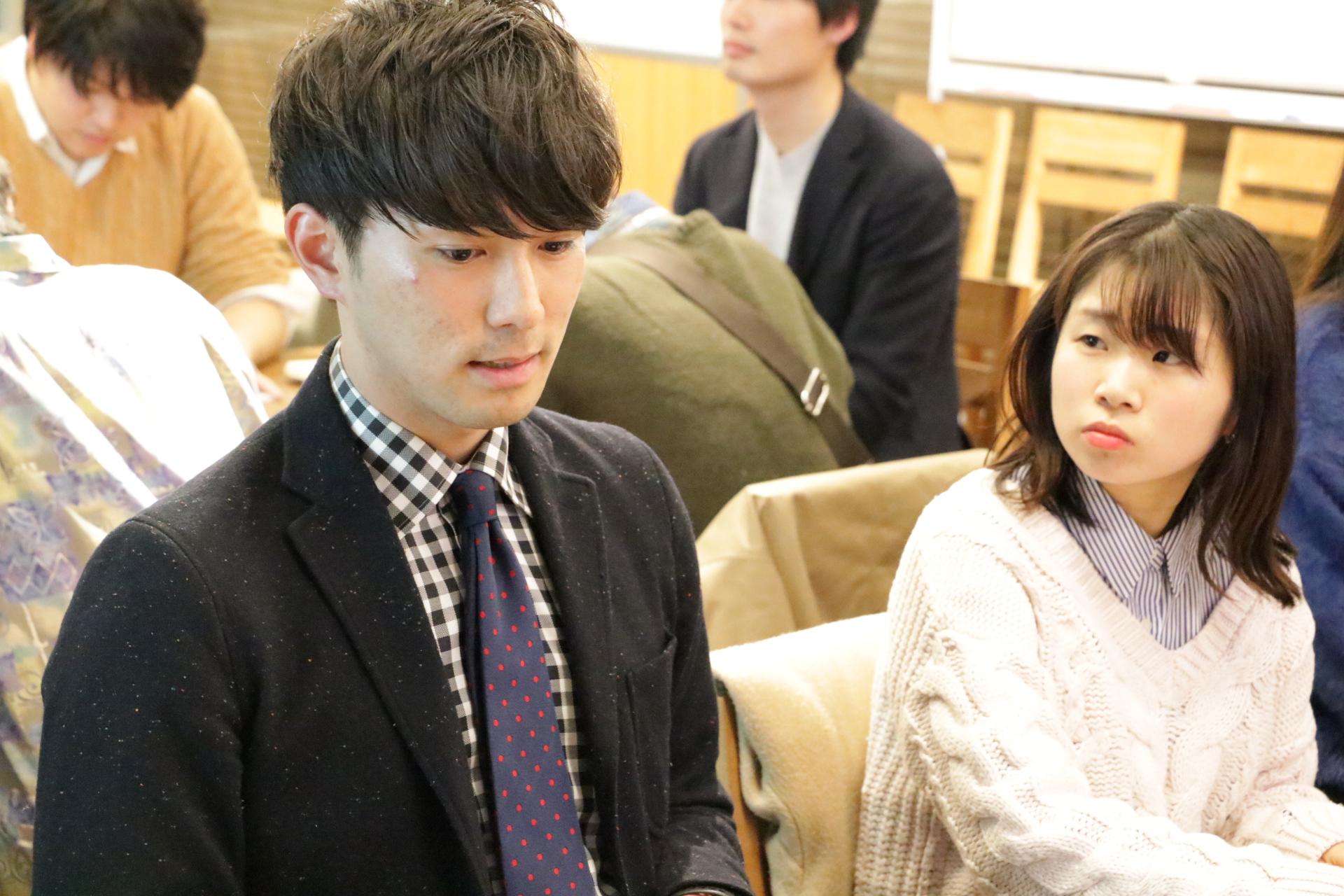 ▲阪急電鉄のSさん(左)
