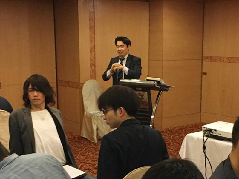 ▲はるばる台湾まで来てくださった『致知出版社』の板東さん。