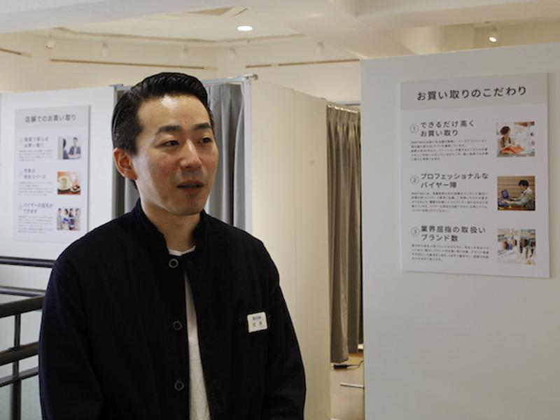 ▲ 急な質問にも、笑いながらしっかりお話してくださった金澤さん。