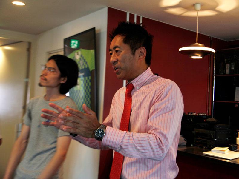 ▲代表の鈴木からも、このワークショップの目的を説明。