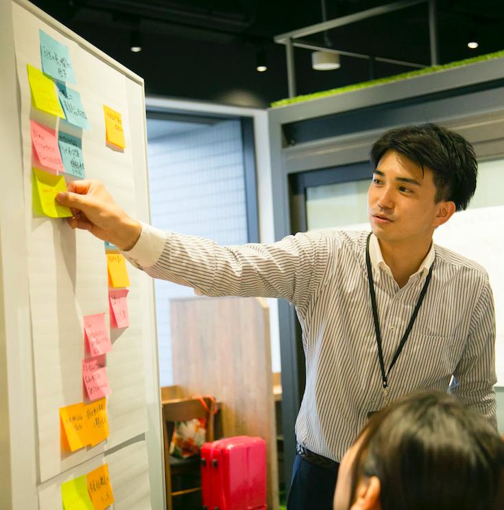 プロジェクト紹介に、イートアンド株式会社様のインナーブランディングを追加しました。