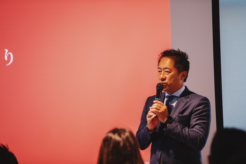 ▲代表・鈴木猛之より一言。「自分たちの仕事は、お客様の想いや企業の素晴らしさを鏡のように映し、共創させていただいているもの。お客様とそのプロジェクトを共有し称え合うこのアワードが、日本全体を盛り上げていけるような一助になれればと思います。」